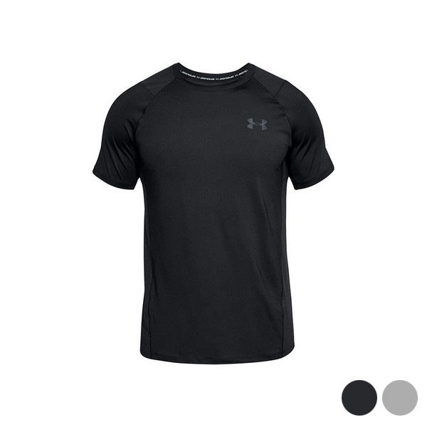 Camiseta de Manga Corta Hombre Under Armour 1323415 Negro