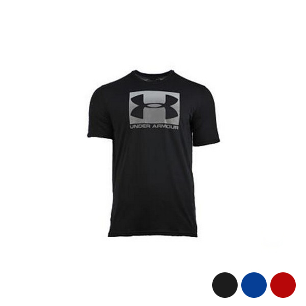 Camiseta de Manga Corta Hombre Under Armour Boxed Sportstyle