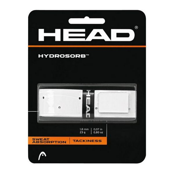 Grip de Tenis Head Hydrosorb 1,8 mm Elastómero Blanco