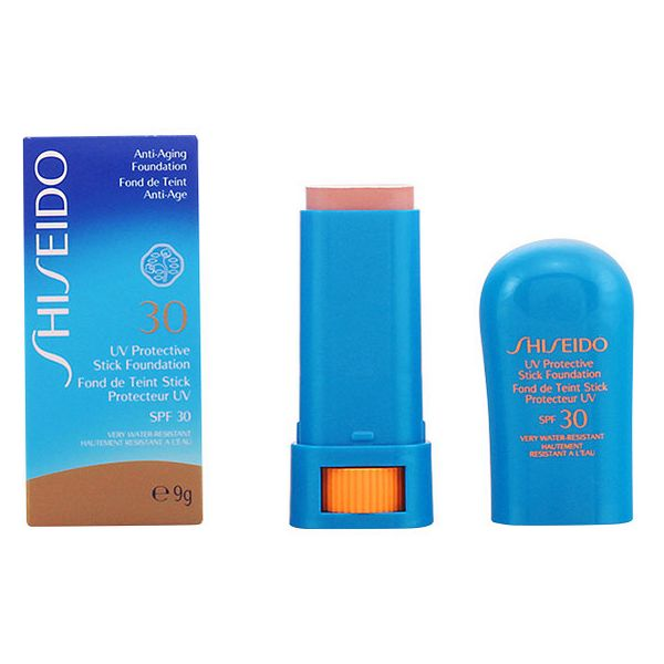 Maquillaje en Barra Sun Protection Shiseido Waterproof Beige