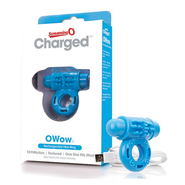 Vibrador de Anillo OWow Azul The Screaming O 12433
