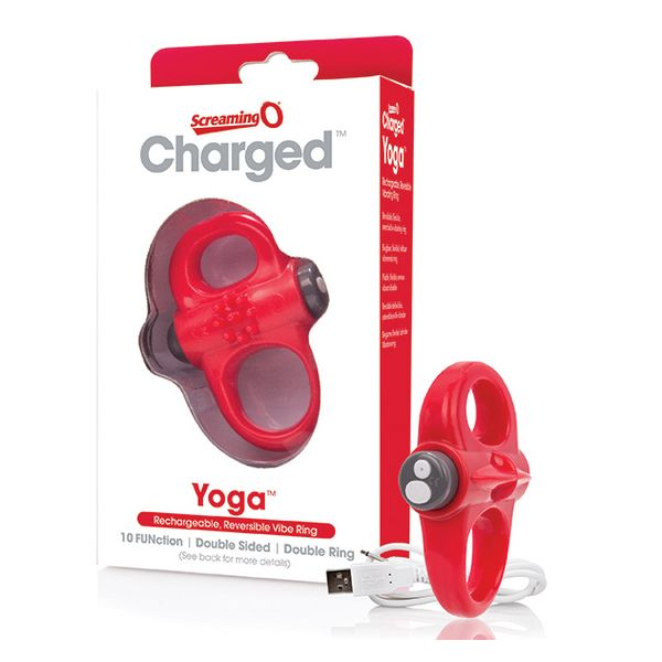 Vibrador de Anillo Rojo The Screaming O SCYVVR