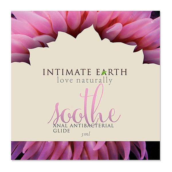 Lubricante Anal Antibacteriano Soothe Foil 3 ml Intimate Earth 6530