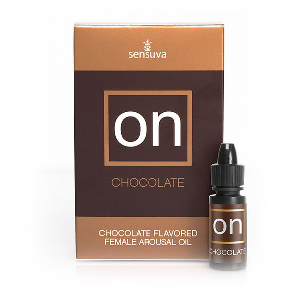 Aceite Estimulante Para Ella ON Sabor Chocholate (5 ml) Sensuva 3367