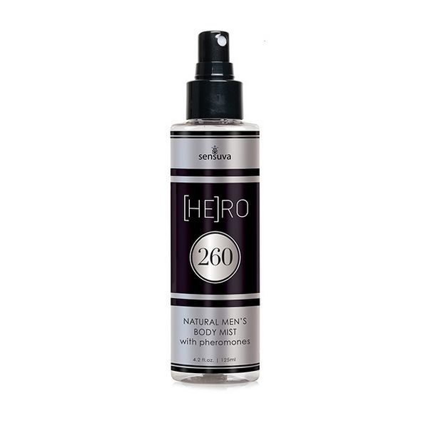 Spray Con Feromonas Para Hombre HE(RO) 260 (125 ml) Sensuva 7570