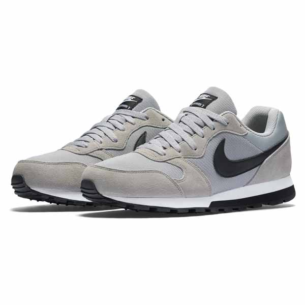Zapatillas Casual Hombre Nike MD RUNNER 2 WOL Gris