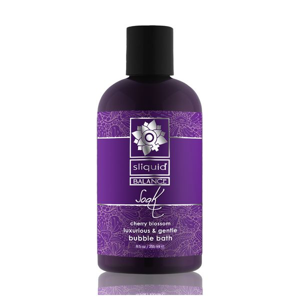 Baño Sensual Flor de Cerezo Sliquid 00562 (255 ml)