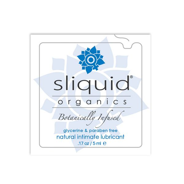 Almohadilla Lubricante Natural Organics (5 ml) Sliquid 722