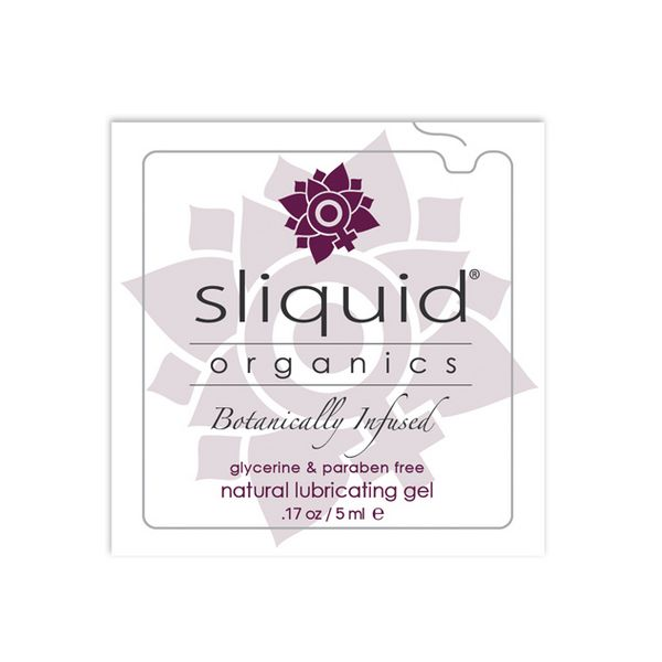 Almohadilla Lubricante Natural Organics (5 ml) Sliquid 753