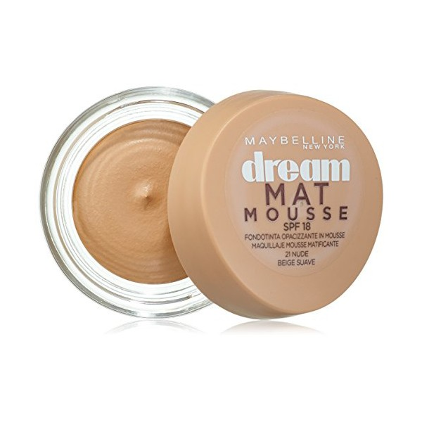 Base de Maquillaje en Mousse Dream Matt Maybelline (18 ml)