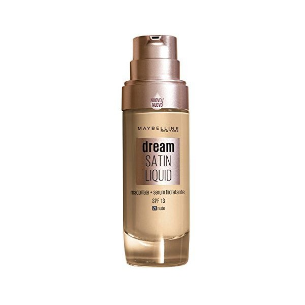 Base de Maquillaje Fluida Dream Satin Liquid Maybelline (30 ml)