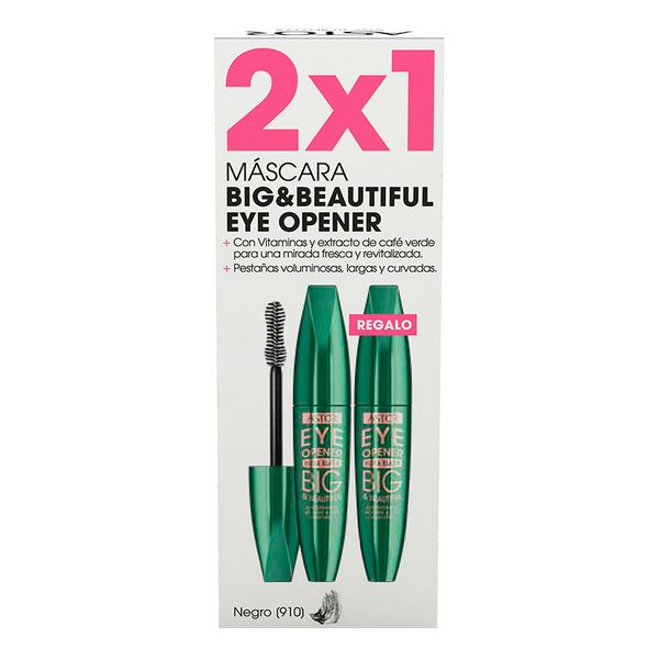 Máscara de Pestañas Efecto Volumen Big & Beautiful Eye Opener Astor (2 uds)