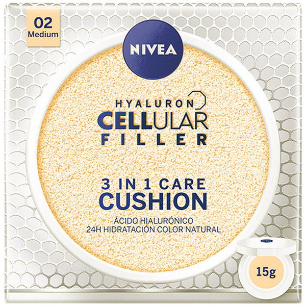 Crema Colorante Hyaluron Cellular Filler Nivea