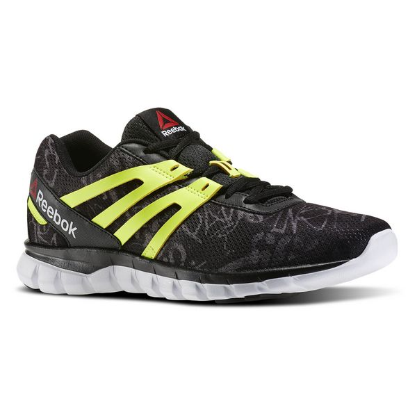 Zapatillas de Running para Adultos Reebok SUBLITE XT CUSHION GRFTMT Negro Amarillo
