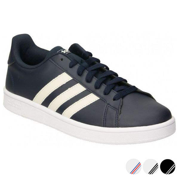 Zapatillas Casual Hombre Adidas Grand Court Base