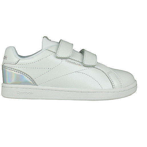 Zapatillas Casual Niño Reebok Royal Complete Clean Velcro Blanco