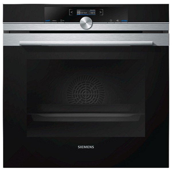 Horno Pirolítico Siemens AG HB673GBS1 71 L 3600W Negro Acero inoxidable