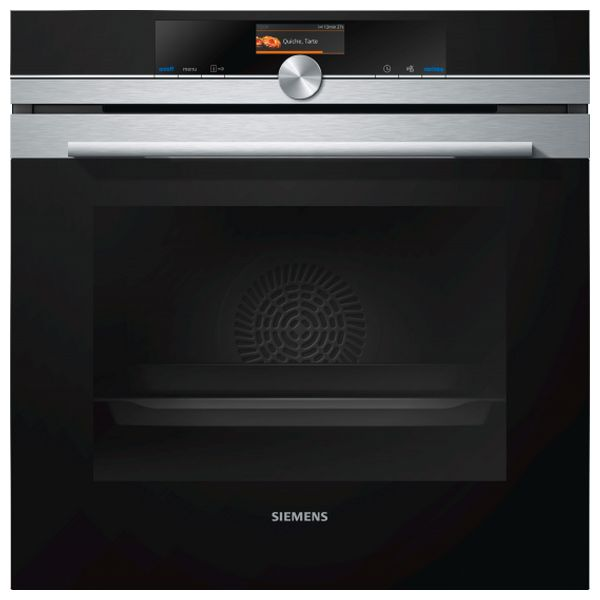 Horno Pirolítico Siemens AG HB676G0S1 71 L 3600W Acero inoxidable
