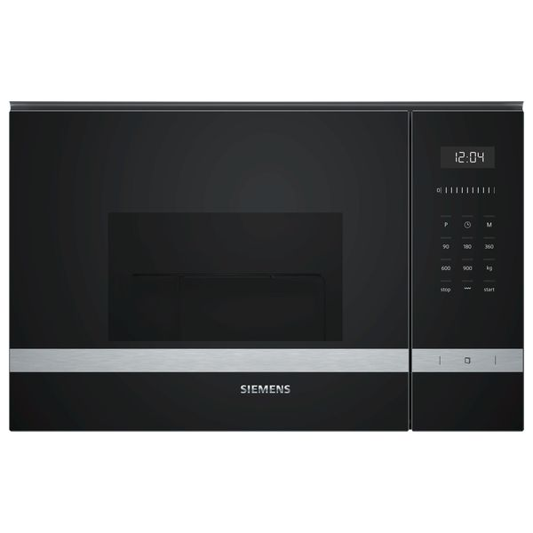 Microondas con Grill Siemens AG BE555LMS0 25 L Touch Control 1450W Negro