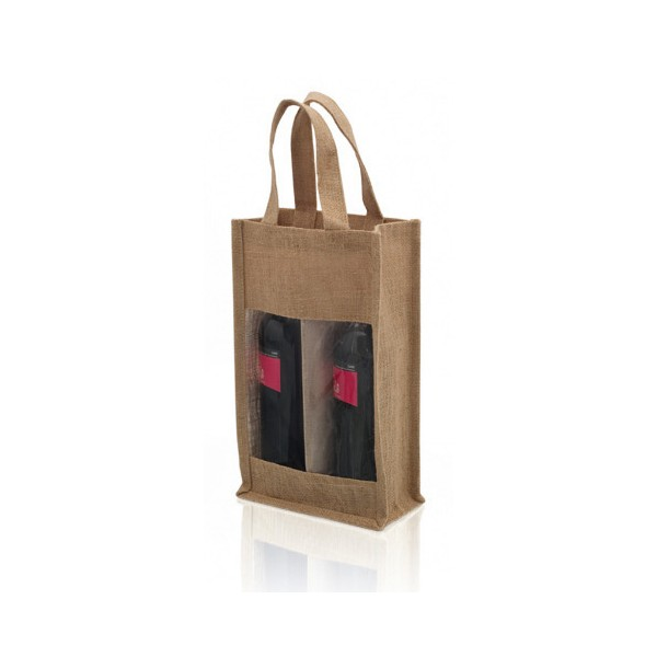 Bolsa Doble para Botellas de Vino (75 cl) 143481
