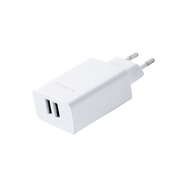 Cargador de Pared Sony CP-AD2M2WC 3A Blanco