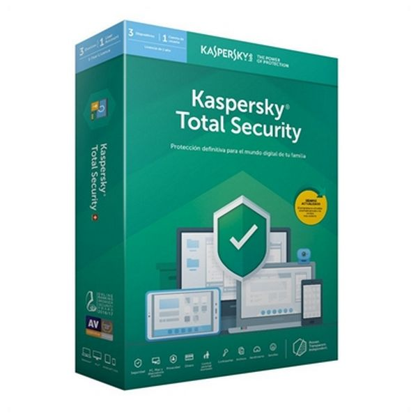 Antivirus Hogar Kaspersky Total Security MD 2019 Windows macOS