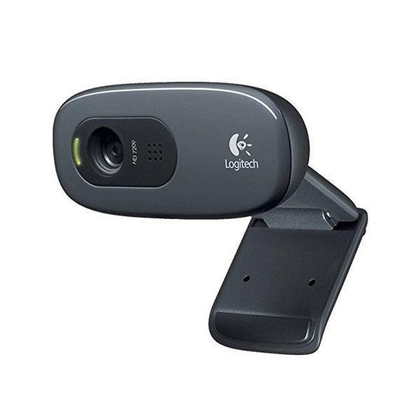 Webcam Logitech C270 HD 720p 3 Mpx Gris
