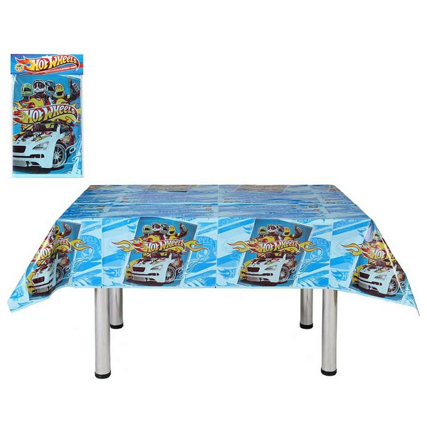 Mantel para Fiestas Infantiles Hot Wheels 116039 (180 x 120 cm)
