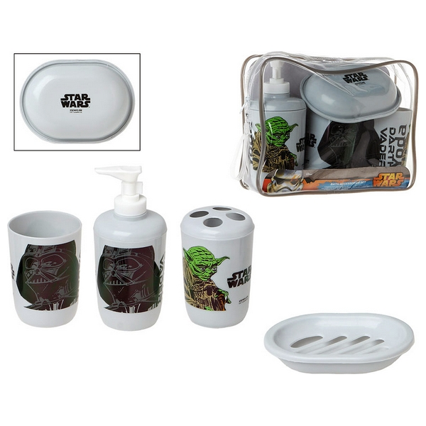 Set de Baño Star Wars Infantil (4 Pcs) 114303