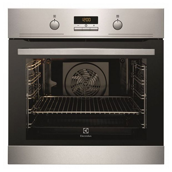 Horno Pirolítico Electrolux EOC3431AOX 74 L LCD 44 dB 3480W Acero inoxidable Negro