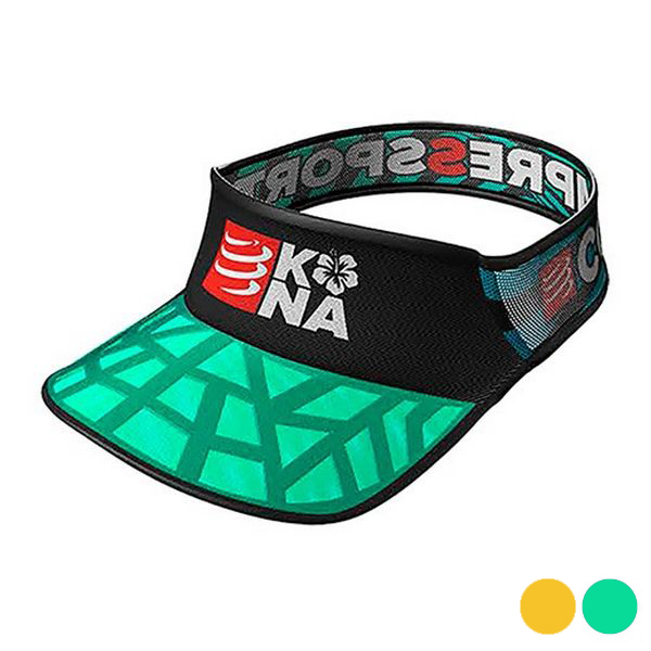 Visera Unisex Compressport Kona 17 Multicolor