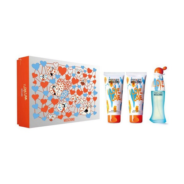 Set de Perfume Mujer Cheap And Chic Love Love Moschino (3 pcs)
