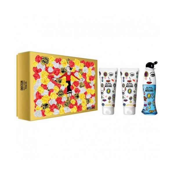 Set de Perfume Mujer So Real Cheap & Chic Moschino (3 pcs)