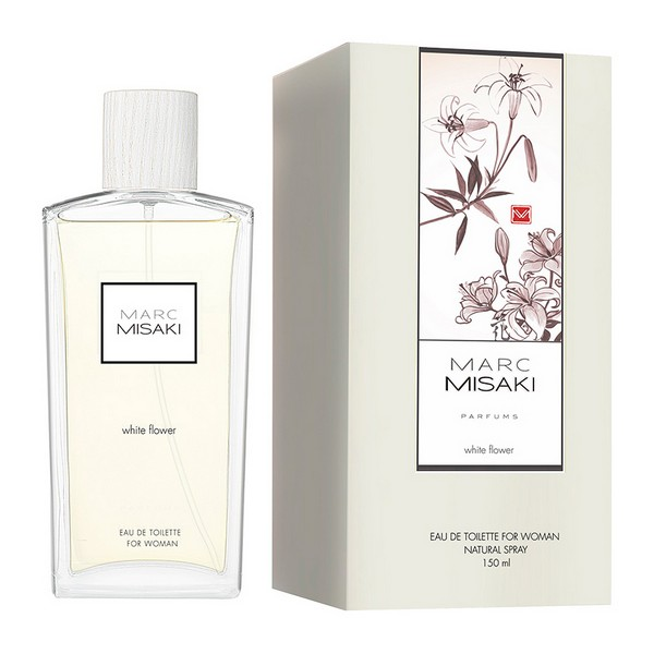 Perfume Mujer Marc Misaki For Woman White Flower Instituto Español EDT (150 ml)
