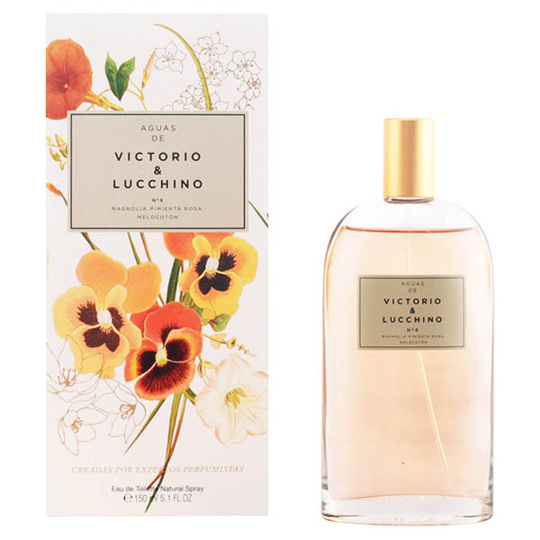 Perfume Mujer V&l Agua Nº 6 Victorio & Lucchino EDT