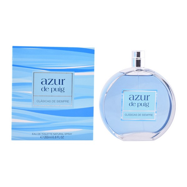 Perfume Mujer Azur Puig EDT (200 ml)