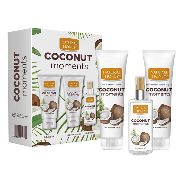 Set de Cuidado Personal Coconut Moments Natural Honey (3 pcs)
