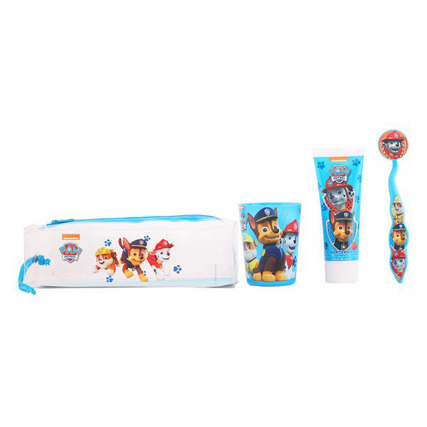 Set de Cuidado Bucal Infantil The Paw Patrol Cartoon (4 pcs)