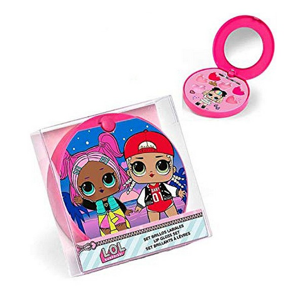 Set de Maquillaje Infantil Cartoon Rosa