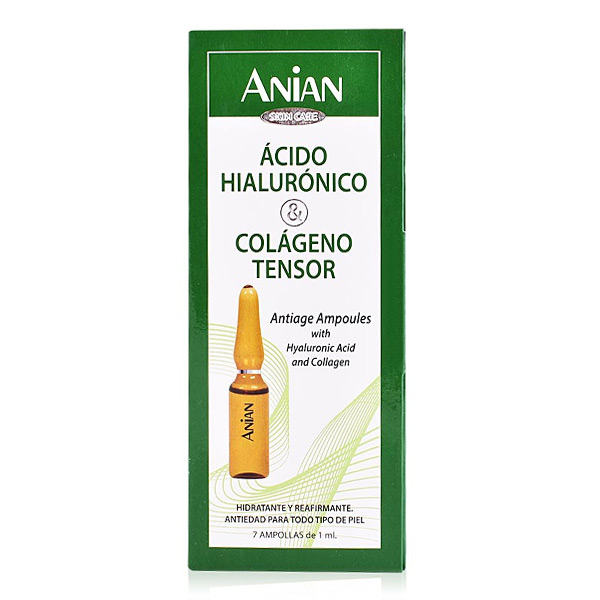 Ampollas Efecto Lifting Hyaluronic Acid Anian (7 uds)