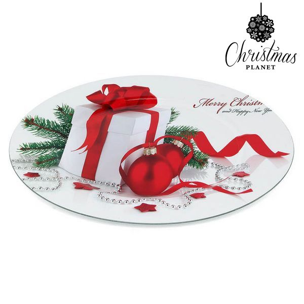 Plato Decorativo Christmas Planet 1147
