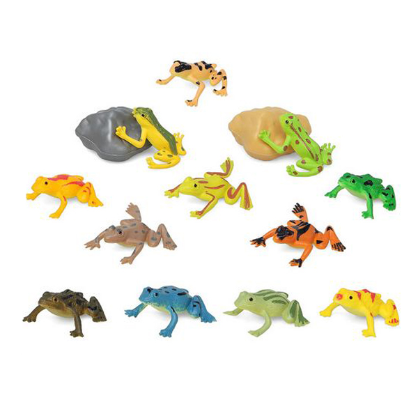 Set de Animales Salvajes 110197 Rana (14 Pcs)