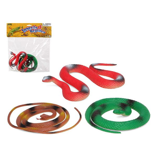 Set de Animales Salvajes 113006 Serpiente (3 Pcs)