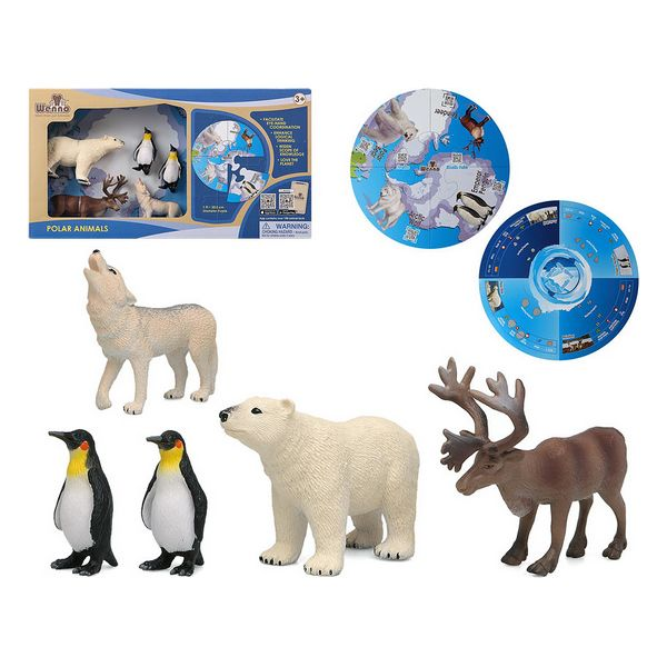 Set de Animales Salvajes Polar 113044 (5 pcs)