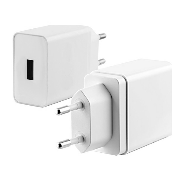 Cargador USB Pared Quick Charge 3.0 Blanco