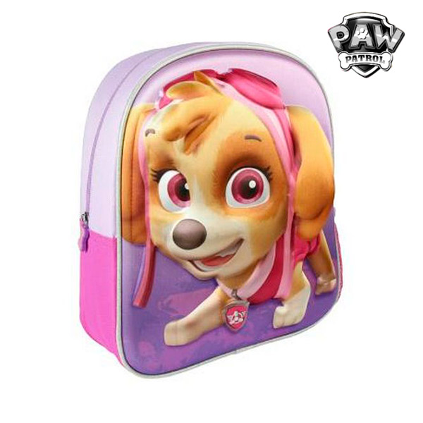 Mochila Escolar 3D The Paw Patrol 8201