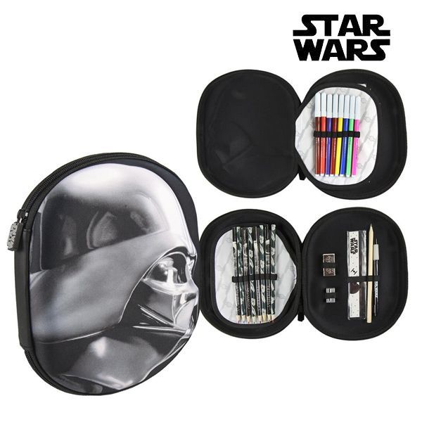 Plumier Triple Star Wars 8423 Negro