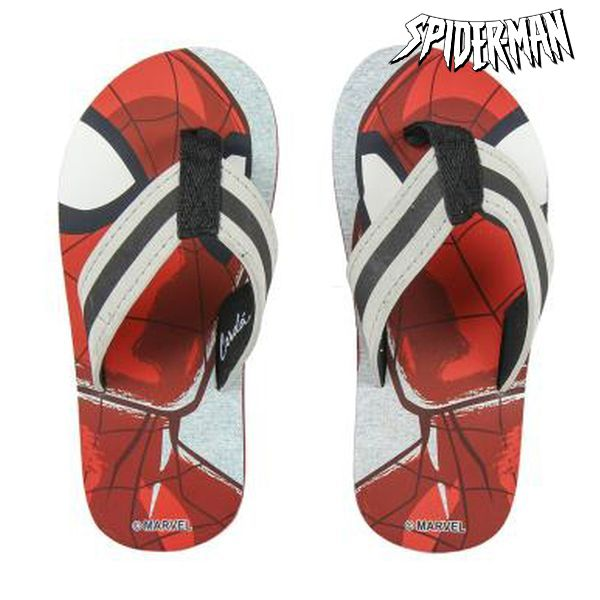 Chanclas Spiderman 73018 Rojo