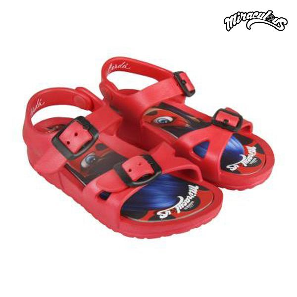 Sandalias de Playa Lady Bug 73062 Rojo
