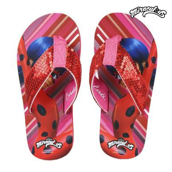 Chanclas Lady Bug 73023 Rojo